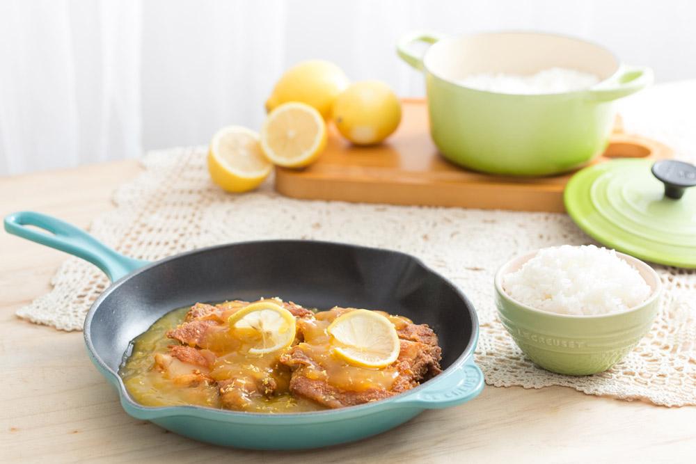 Lemon Chicken (Serves 4)