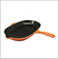 Oval Skillet Grill Flame
