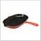 Oval Skillet Grill Red