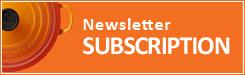 Le Creuset Newsletter Subscription