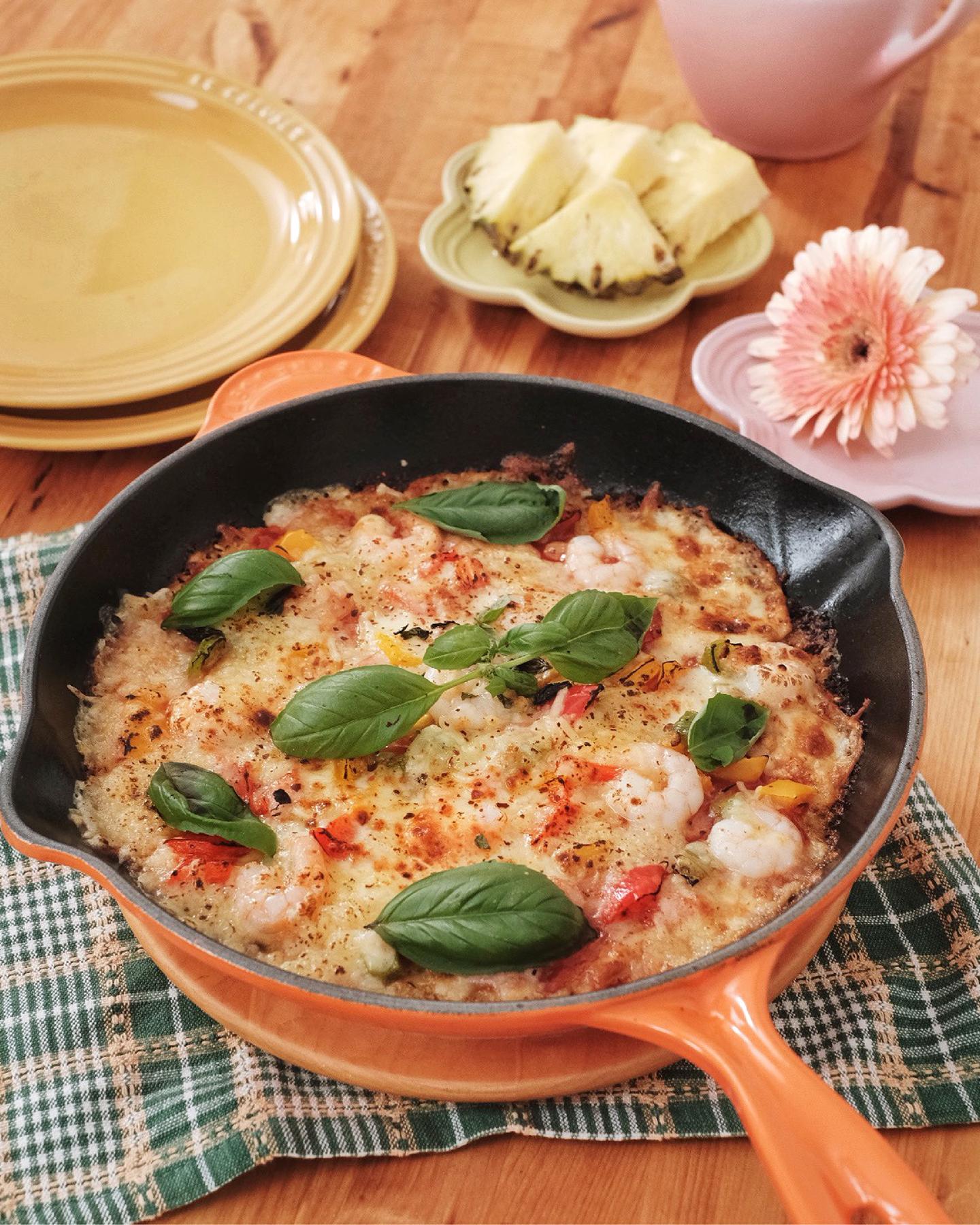 Cauliflower Flourless Pizza